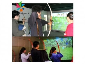 China New game machine Archery projection interaction on sale