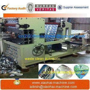 China aluminium foil register die punching machine with servo motors speed 150 meter a minute on sale