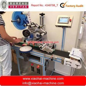 China PLC controlled round Soap single side and double side Labelling Machine CODING on sale