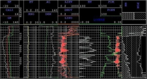 China Low resistivity pays well log analysis, Advanced! on sale