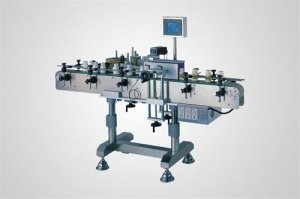 China TB-02 automatic roll-rub Vertical Round Bottle Labeling Machine on sale
