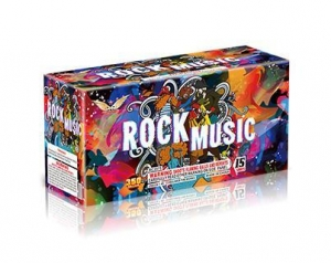 China 350 Gram Cakes RC3575 15 Shot Rock Music on sale