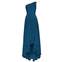 China BRLMALL Women's One Shouder A Line Chiffon Bridesmaid Dresses on sale