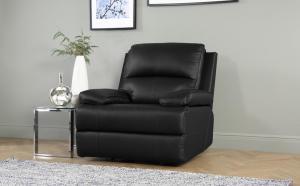 China Sofa Sacramento Black Recliner Armchair on sale