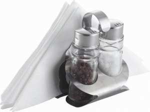 China Napkin Holder With Salt & Pepper Shaker Item NO.:KH-313Z on sale