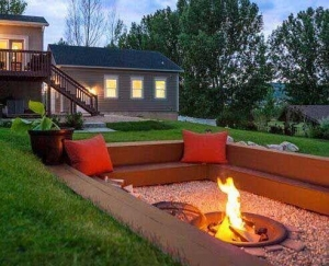 China Captivating Awesome Fire Pits At 15 DIY Pit Ideas For Your Backyard 1932 on sale