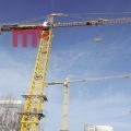 China Hammerhead tower crane of high quality on sale