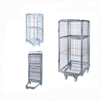 Trolley 4-Sides-Roll-Container-roll-cage-warehouse