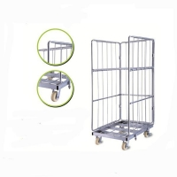Trolley Warehouse-Roll-Cage-Trolley-Roll-Container-wheeled