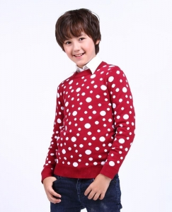 China Wholesale Boys sweater Polka Dot casual fashion w on sale