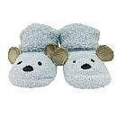 China LBF3313BBSKnitted baby booties - Blue Bear on sale