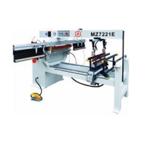 Double Lines Woodworking Drilling Machine