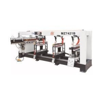 Four Lines Woodworking Drilling Machine