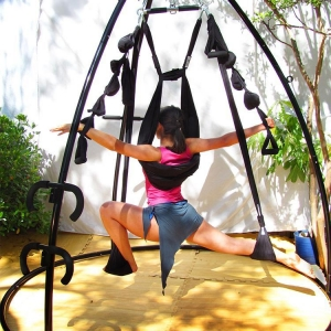 China Yoga Hammock Swing Stand on sale