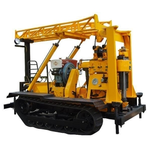 China Four Wheel Tractor Mounted Borehole Drilling Rig on sale