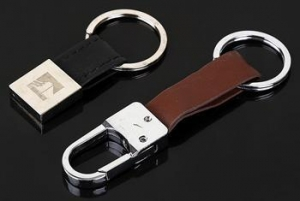 China Souvenirs Leather Keychain on sale
