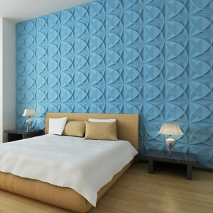 China A21025 - Three D Wall Tiles 3D Wall Panels Plant Fiber Material(set of 33) 3 m or 32 Sq.Ft on sale