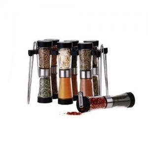 China 12 jars spice rack set on sale