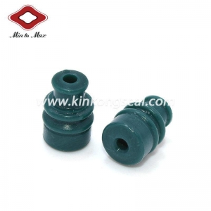 China Sumitomo Sealed Dk Green Wire Seal Used For Automotive Connector Wire Assembly on sale
