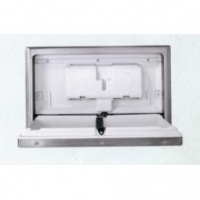 Ostech J8002A stainless steel baby changing station