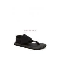 Athletic Sanuk Yoga Sling 2 Sandal for women #Black - VPcv6f58