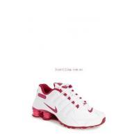 China Athletic Nike Shox NZ EU Sneaker for women #White/Fuchsia/Pink - QDkoltBr on sale
