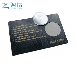 China Hot Selling 13.56MHz Metal RFID NFC Card on sale