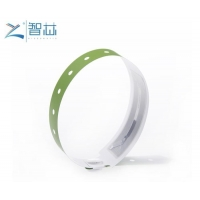 Synthetic Paper 13.56Mhz NTAG 213 NFC Wristband