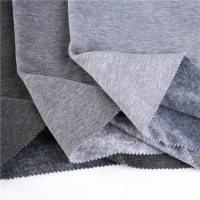 SPANDEX STRETCH FABRIC Polyester Spandex Stretch velour fabric for thermal underwear