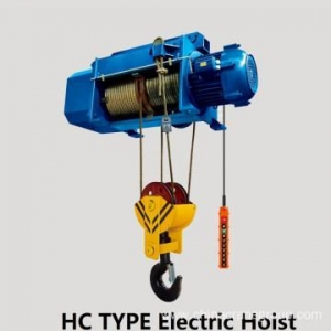 China Electric Wire Rope Hoist Electric Wire Rope Hoist With Trollry on sale