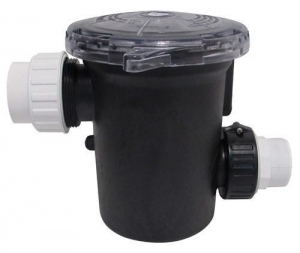China 90 cubic inch optional strainer basket, 2 inlet/outlet on sale