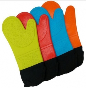 China Silicone Glove For Oven Heat Resistant Kitchen Tool on sale
