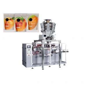 China Premade Bag Packaging Machine Dried Fruits Packing Machine on sale