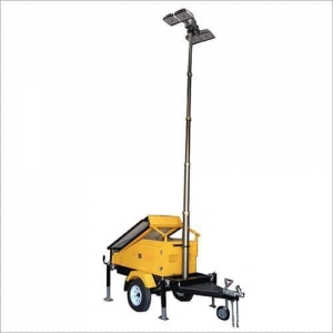 China Solar Trailer Light Tower on sale