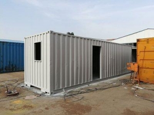 China Container House 40 Feet Shipping Container House on sale
