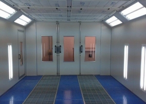 China Paint Spray Booth Auto Body Paint Booth on sale