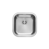 RIP910AA Stainless Steel Square Single Bowl Sink