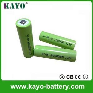 China NiMH Battery AA 1.2V NI-MH Rechargeable NI-MHBattery 1200mAh Supplier NiMH Battery for Medical on sale