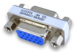 China Adapters DB15HD Mini Gender Changers on sale