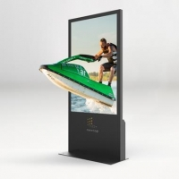 naked eye 3D LCD vertical screen display Naked eye 3D 65 inch vertical screen display