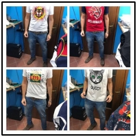 74db0fe02472f6 2018 Wholesale New Gucci Snake t-shirt Replica Gucci Designer T Shirt For  Men