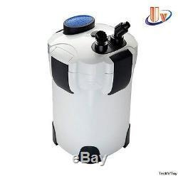 China SUNSUN HW-304B 5-STAGE EXTERNAL CANISTER FILTER 525GPH/9W UV STERILIZER With MEDIA on sale
