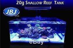 China JBJ 20 Gallon Coral Frag Tank Filter Included Freshwater Saltwater Aquarium on sale