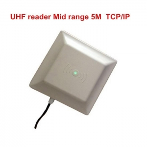 China TCP/IP ISO 18000-6C EPC Gen2 3-5 meter long range integrated uhf rfid reader on sale