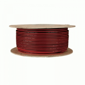 China Amp Kits Bulk Wire RCA Cables Speaker Wire 14 Gauge Red-Black Paired - Coil of 100 feet on sale