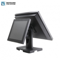 17 Inch+12 Inch Dual Screen Pos Sales Systems