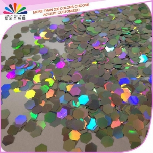 China High Quality PET Hexagon Glitter for Decoration on sale
