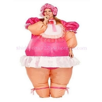 China inflatable costume baby doll on sale