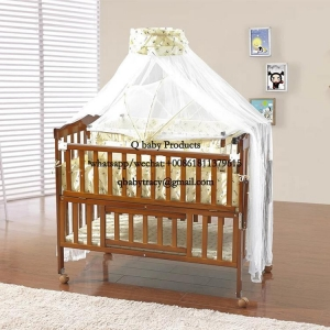 China wholesale wooden baby cribs 26 WOODEN BABY CRIBS on sale