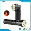 China JFF75 LED Flashlight Handfree 90 Degree Twist Rotary Clip 600lm Waterproof Magnet Mini LED Torch for sale